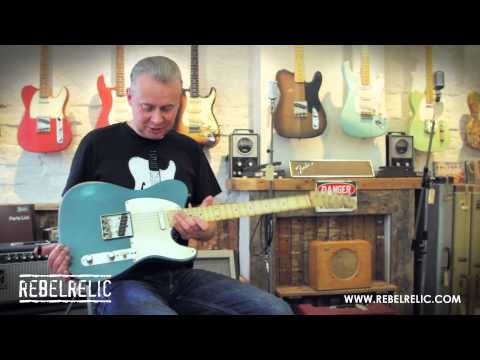 Lake Placid Blue T-Series | REBELRELIC GUITAR SHOWCASE