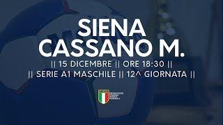 Serie A1M [12^]: Siena - Cassano Magnago 18-19