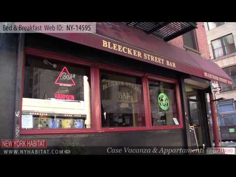 Manhattan, New York City – Video tour di un Bed & Breakfast in East 5th Street, nell'East Village
