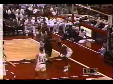 02.22.1994: Rockets vs. Nuggets - Hakeem vs. Mutombo