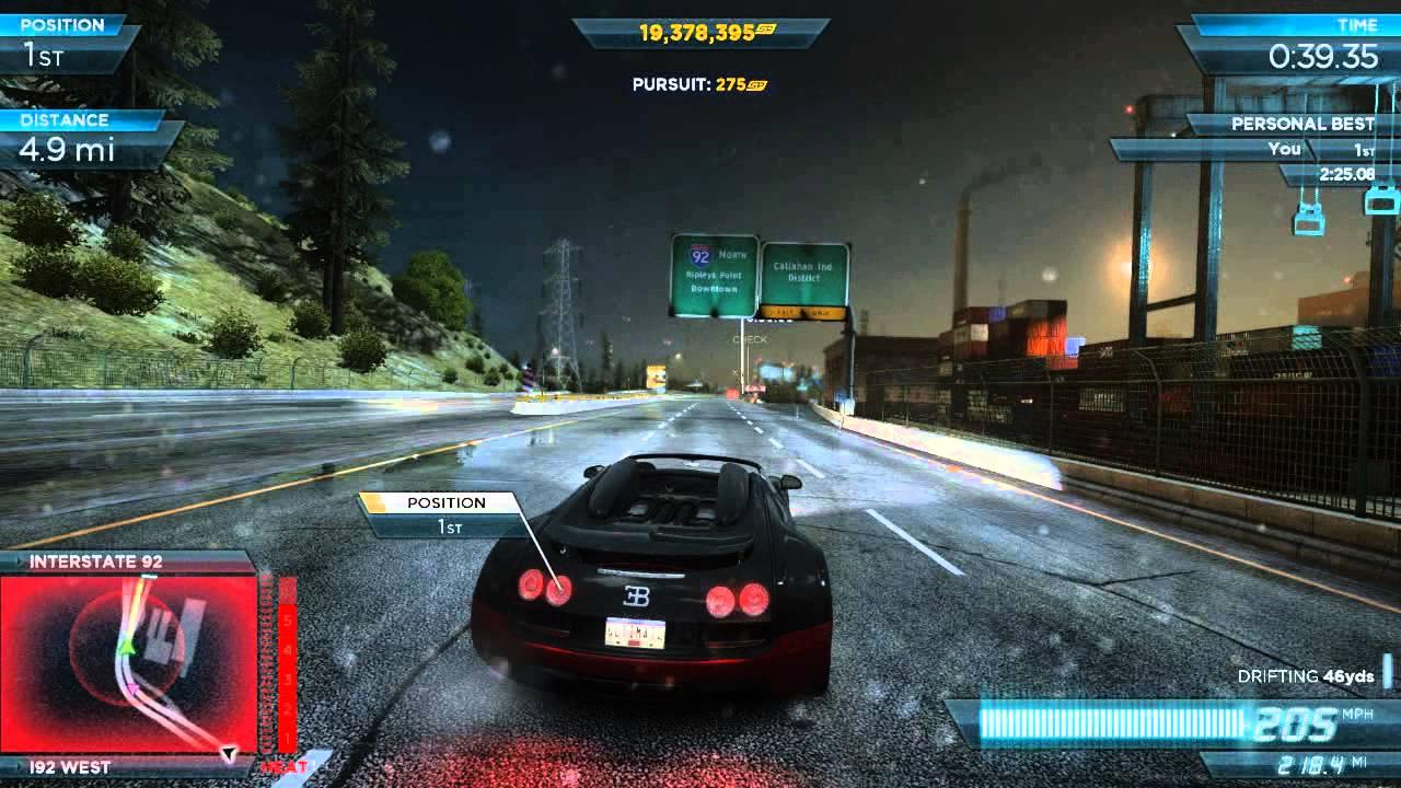 nfs most wanted 2012 bugatti veyron vitesse full pro mods vs bugatti veyron. Black Bedroom Furniture Sets. Home Design Ideas