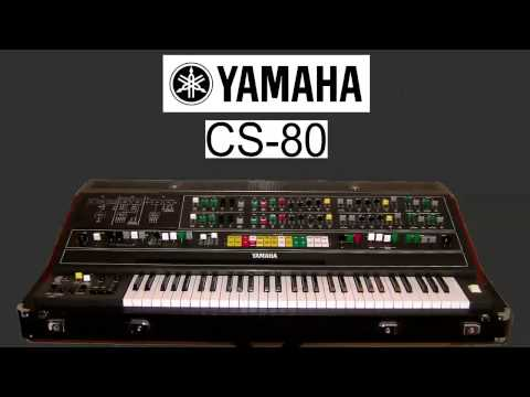 Yamaha CS-80 - Initial Machine Experiments Music Videos