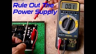 Testing LCD TV Power Supply Boards~STEP BY STEP