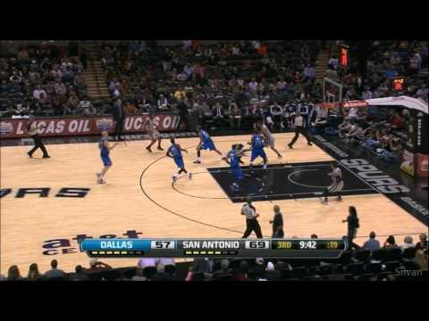 San Antonio Spurs all 20 Three-Pointer (Franchise Record) vs Dallas Mavericks - 23/12/2012