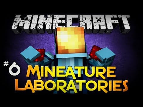 Minecraft: Mineature Laboratories - Part 6 - Redstone is Fun!