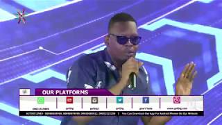 Ajebutter 22 performing at the National Jackpot Tv Game Show