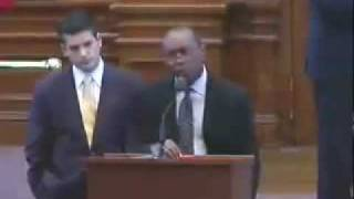 Rep. Sylvester Turner addresses the completion of the budget