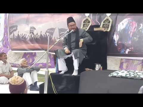 "Molana ""Meesam Zaidi''Sahab 1st Majalis 2nd Day Salana Majlis 2019 Chhajupura Sadat Bijnor UP"