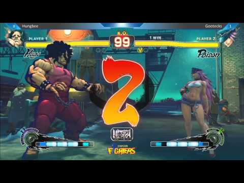 Hungbee vs Gootecks - Super Arcade Ultra Street Fighter IV Location Test