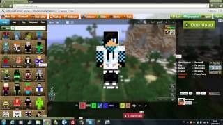Comment crée son Skin Minecraft