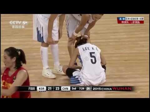 20150830 FIBA ASIA WOMAN'S CHAMPIONSHIP - SOUTH KOREA V.S CHINA HIGHLIGHT