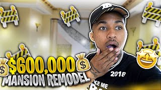 I'M CREATING A WHOLE NEW MANSION FOR $600,000!!!