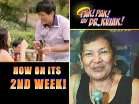 Pak Pak My Dr. Kwak Now On Its 2nd Week (lahat Ay Pumila At Manonood Na) video