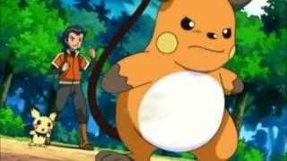 Ash vs Sho (Pikachu vs Raichu)