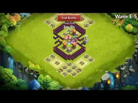 Castle Clash - HBM Farming E No Garrisons