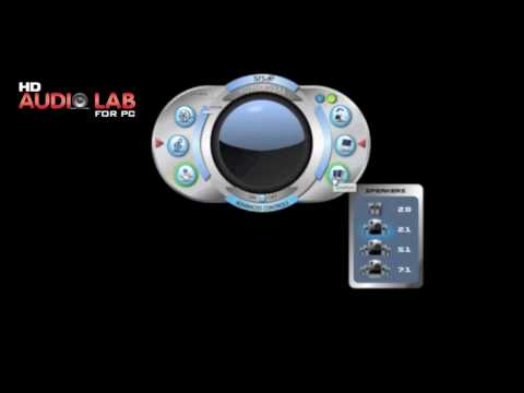 SRS HD Audio Lab for PC - Advanced Audio Enhancement Software
