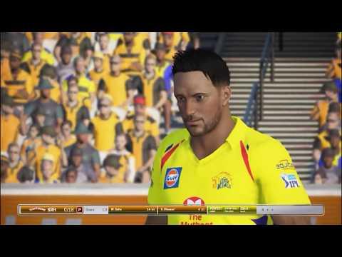 SRH Vs CSK 20th T20 Highlights Vivo IPL 2018 Ashes Cricket 17 Gameplay