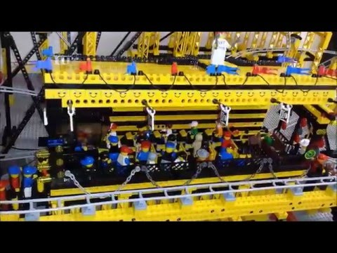 Final Lego rollercoaster finished NXT controlled