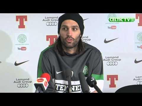 2012.11.27 Georgios Samaras pre-match MC