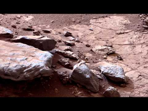 Mars Rover Curiosity Finds Important Calcium Deposits | 01/18/2013 | NASA JPL HD Video