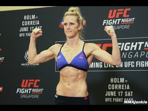 Official UFC Fight Night 111 weigh-ins