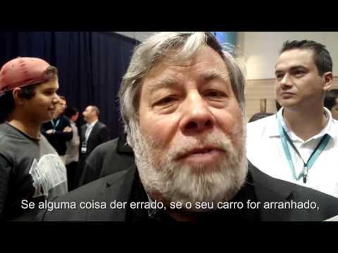 Steve Wozniak fala sobre a relação entre felicidade e sucesso durante evento na Pucrs
