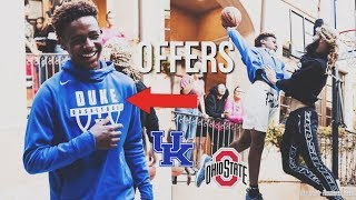 Bronny James Already Receives OFFERS From 3 TOP Colleges! | Duke, Kentucky, Ohio State