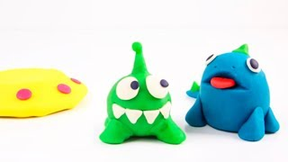 Creative Video For Kids Play Doh Mad Mattr Kinetic Sand Coloring DIY Cartoons Toys Colored Paper