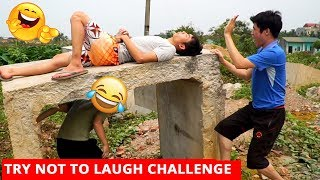 TRY NOT TO LAUGH CHALLENGE 😂 😂 Comedy Videos 2019 - Episode 13 - Funny Vines || SML Troll