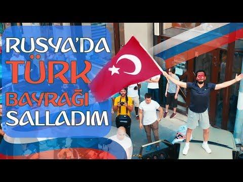 Rusya'da Türk Bayrağı Salladım - Hayrettin