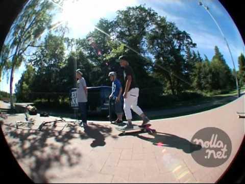 Nolla.net TV 7 / 2012 Skeittipakun matkassa