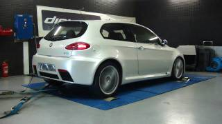 Reprogrammation Moteur Alfa 147 GTA @ 260cv dyno digiservices Paris