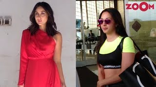 Kareena Kapoor Khan's HOT red outfit | Kiara Advani papped at the airport | Celeb Spotted