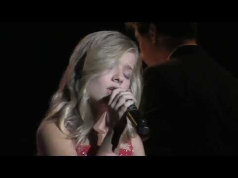 "Jackie Evancho ""Reflection"" Puyallup Fair Seattle 9-15-2012 HD"
