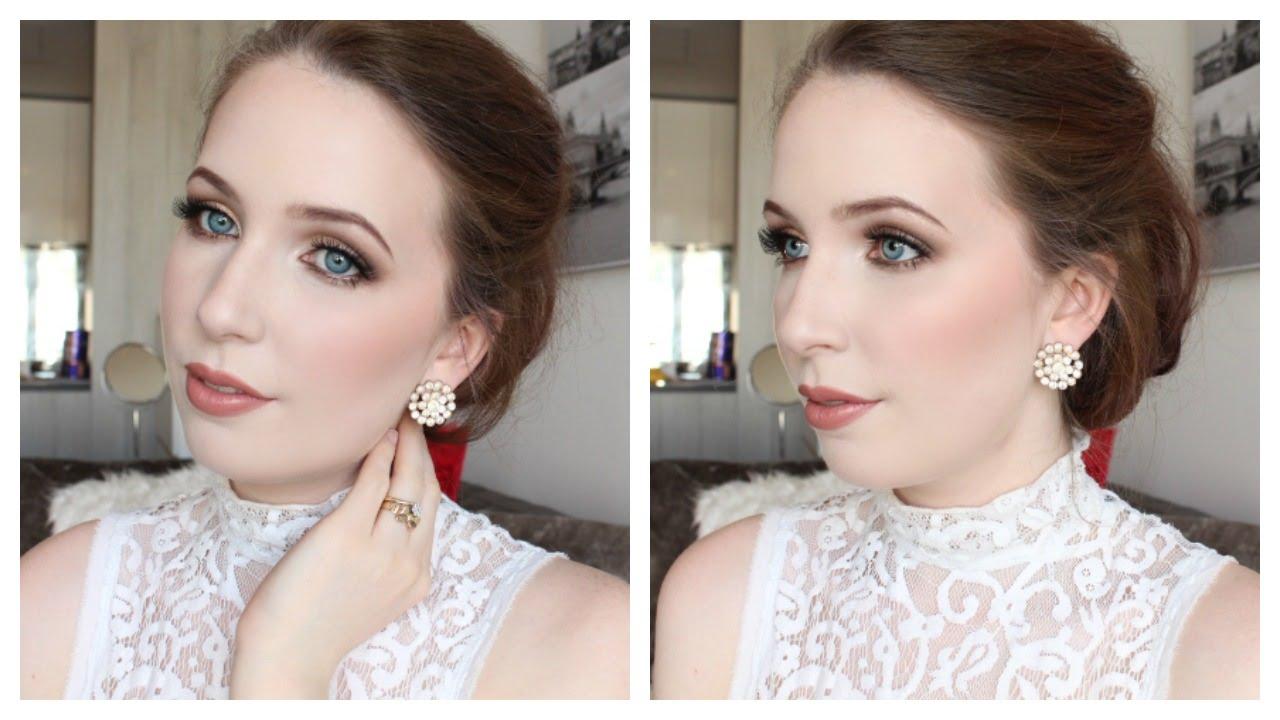 Wedding Day Makeup Fair Skin : Bridal Makeup for Blue Eyes ? Arna Alayne ? Collab w ...