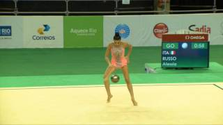 Rio de Janeiro - Test Event: Alessia Russo / Palla (qualifiche)