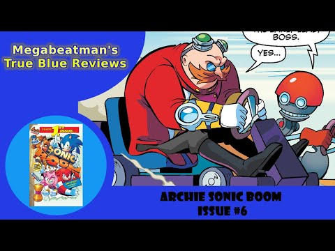Let's Review Sonic Boom #6!