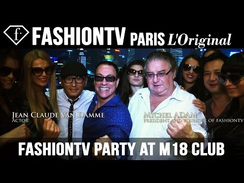 Dinner At Roosevelt & Fashiontv Party At M18 Club Shanghai Ft Michel Adam, Jean Claude Van Damme video