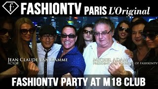 Dinner at Roosevelt & fashiontv Party at M18 Club Shanghai ft Michel Adam, Jean Claude Van Damme