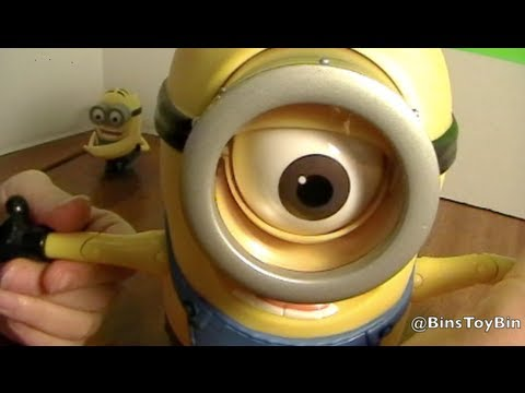 Minion Stuart Figure Minion Stuart Despicable me 2