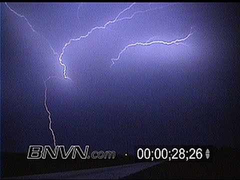 7/9/2000 Lightning Video from Northwestern Iowa