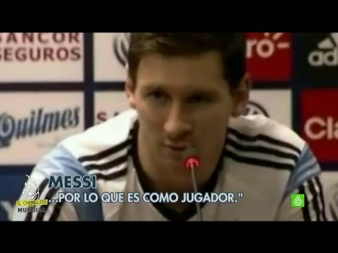 """Leo Messi: """"Me encantaría que Higuaín fuese al Barcelona"""" - #ElChiringuitodelMundial"""