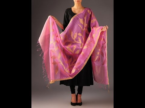 Transparent Jamdani Dupatta Designs