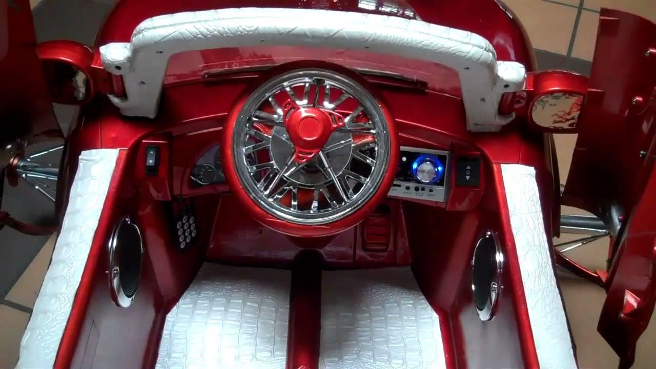 Rudysridez Com Custom Powerwheel Lambo Doors White