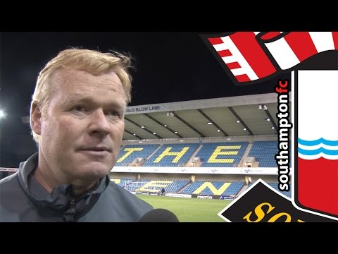 Saints boss Koeman pleased with Den turnaround