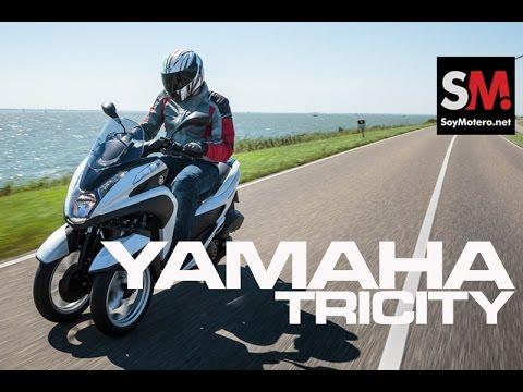 Presentación Yamaha Tricity 2015