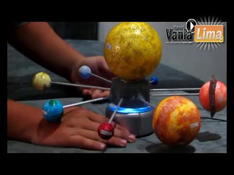 VANIA LIMA - SISTEMA SOLAR GIRATÓRIO(ASTRONOMIA)