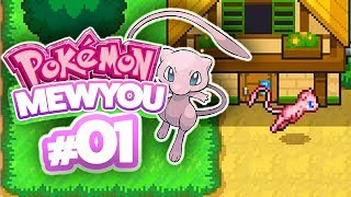 PLAYING AS MEW?! - Pokémon MewYou (Part 1)