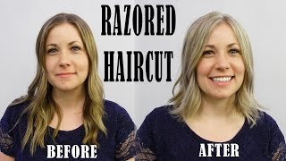 TRENDING RAZORED WOMENS HAIRCUT