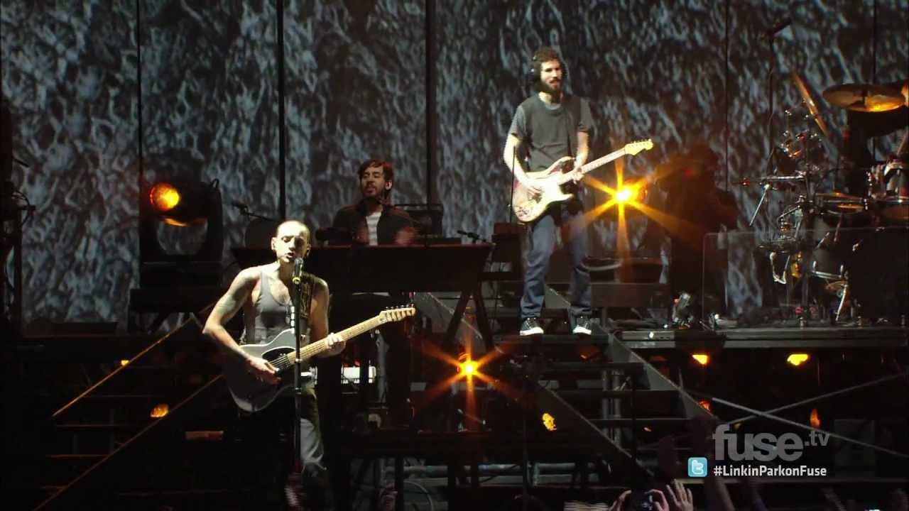 Linkin Park Iridescent Live In Madison Square Garden Youtube